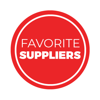 Favorite Suppliers